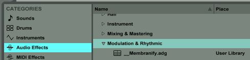 How to Organize User & Plugin Presets Like a Boss in Ableton 9 Using