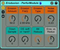 "New free audio effect rack: ""Eroduxion"""