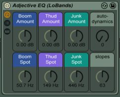 Adjective EQ (LoBands)