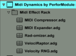 Midi Dynamics Browser