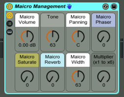 Maicro Management effect rack