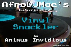 afrodjmac vinyl snackler