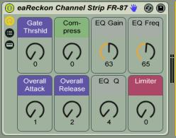 eaReckon Channel Strip